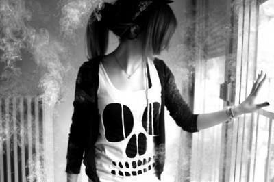 Tête de mort ♥