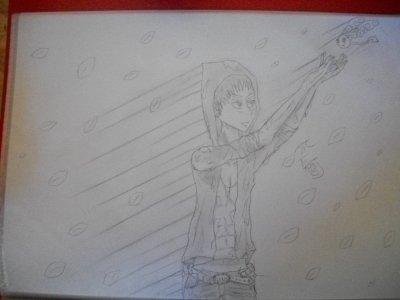 vrai dessin fait comme un manga-ka