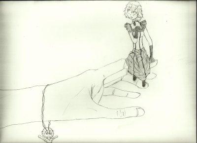 le début d'un dessin