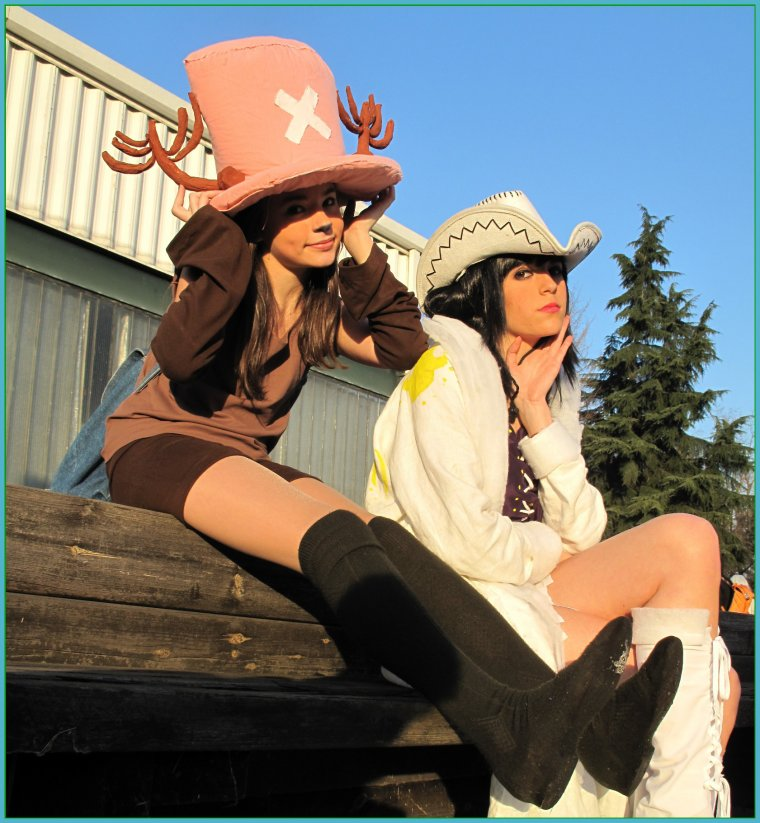 cosplay one piece !