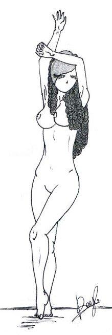Drawn.