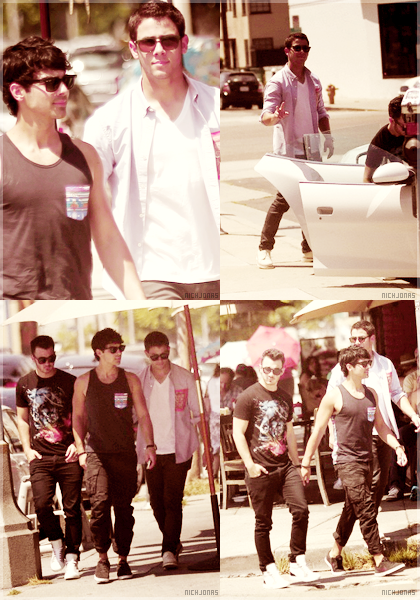 . COIN NEWS: Les Jonas Brothers à Hollywood .