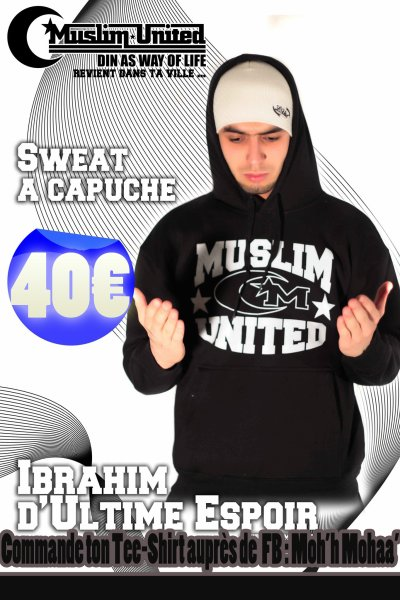 SWEAT A CAPUCHE MUSLIM UNITED