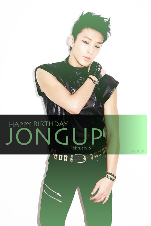 ♦ -   HAPPY BIRTHDAY TO JONG UP   - ♦