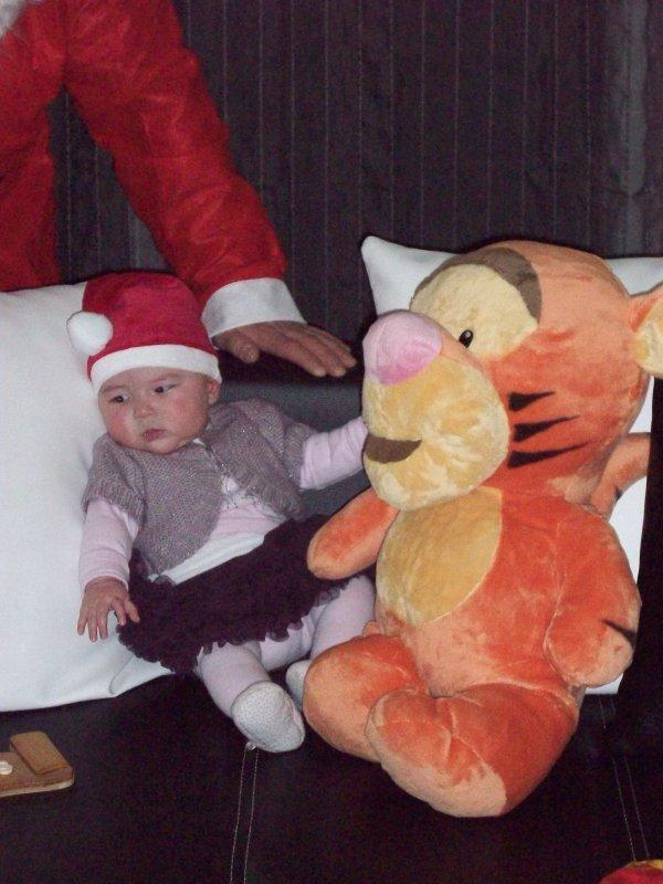 Noël 2010 chez ma fille sab et tof et Maëlys...