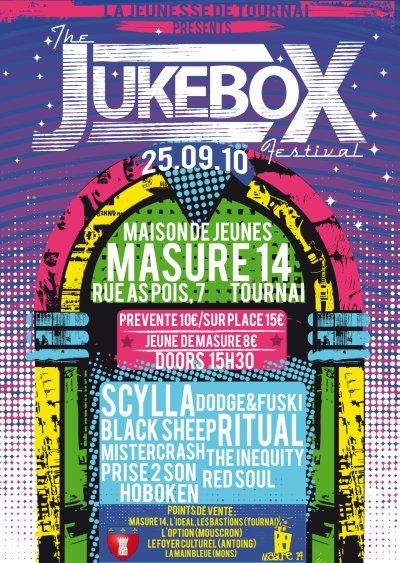 """SCYLLA EN CONCERT AU """"JUKEBOX FESTIVAL"""" DE TOURNAI LE 25 SEPTEMBRE 2010 !"""
