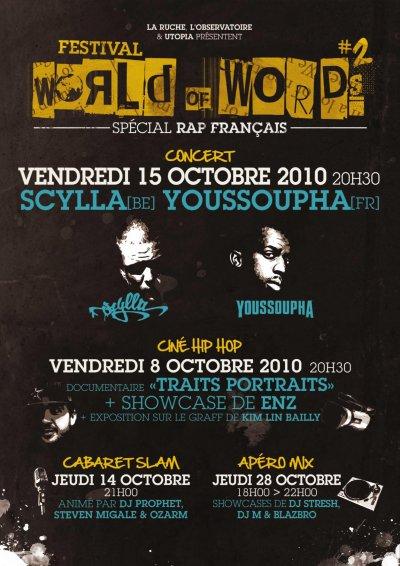 SCYLLA EN CONCERT A L'OBSERVATOIRE DE CERGY LE VENDREDI 15 OCTOBRE 2010 !