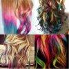 Coloration des pointes de différentes couleurs