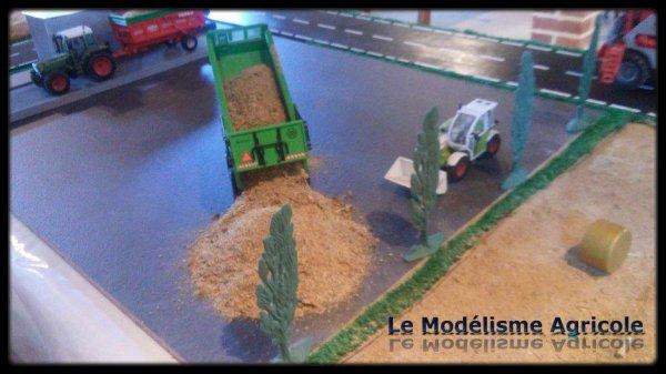 """Projet N°11 : Maquette a thème : """"La moisson"""""""