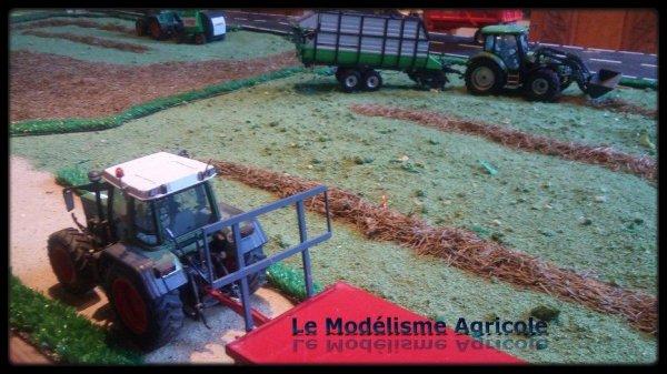 """Projet N°12 : maquette à thème """"Les foins"""""""