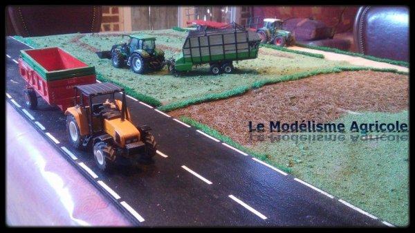 """Projet N°12 : Maquette à thème : """"Les foins"""""""