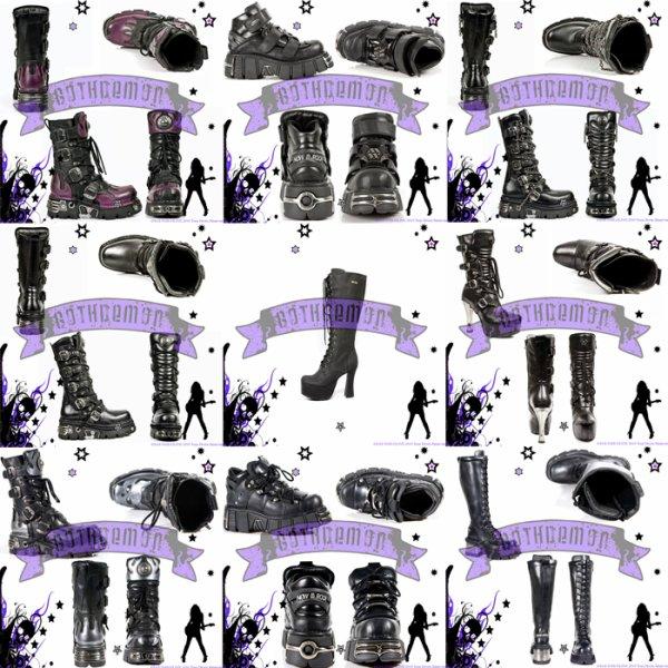 Chaussures et bottes Gothique NEW ROCK disponible sur Gothdemon.fr