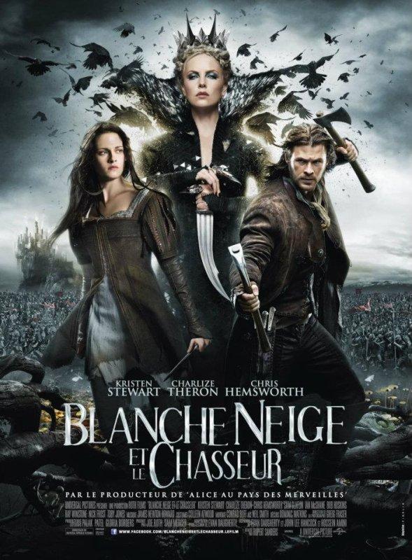 Nouvelle affiche française pour Blanche Neige Et Le Chasseur + Nouvaux stills