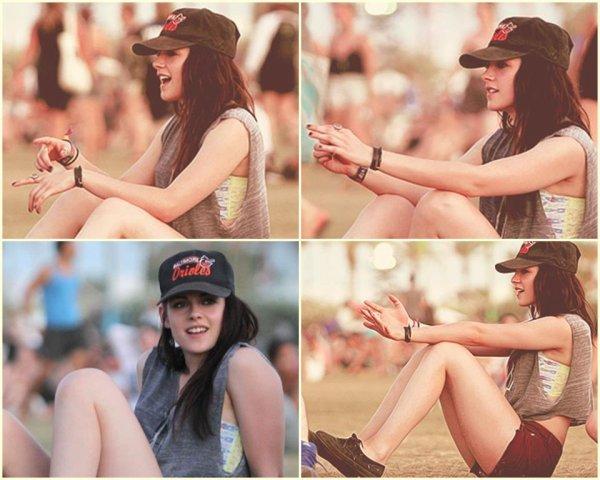 Kristen au Festival de Coachella