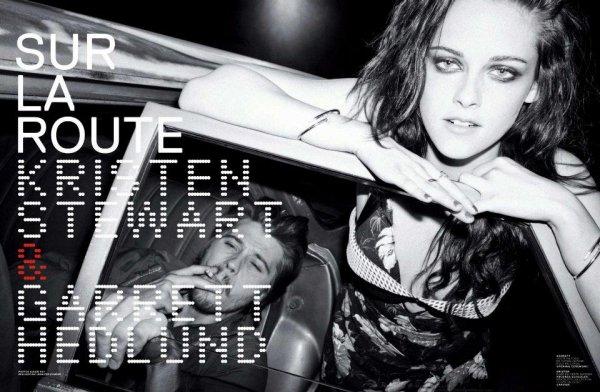 Kristen & Garrett Hedlund pose pour Jalouse / Kristen est Charlize étaient au CinemaCon