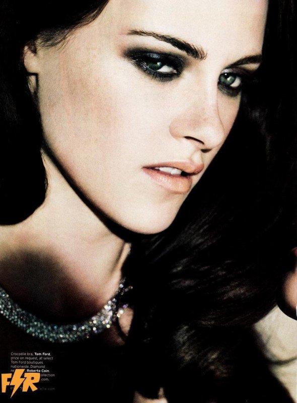 Kristen pour le magazine ELLE US