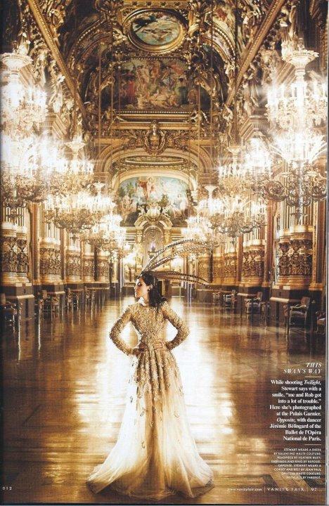 . Kristen en couverture du magazine Vanity Fair en Juillet 2012