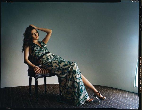 . Kristen pour le magazine Madame Figaro