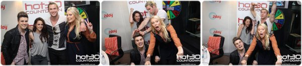 . 20.06.12 Kristen & Chris a la radio Hot30 Countdowm + 21.06.12 Kristen retourne chez elle.