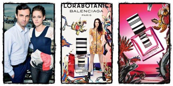 . Kristen pour le parfum Balenciaga : FloraBotanica