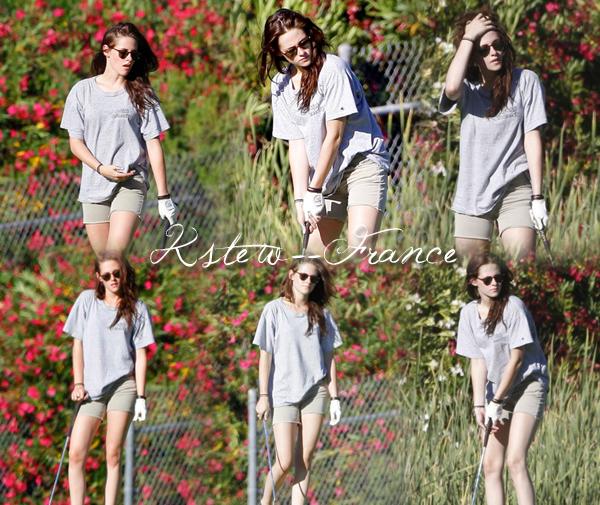 . Photoshoot de Kristen + Kristen le 19 Juillet Puis le 20.