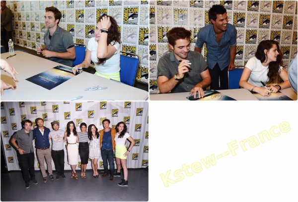 . 12.07.12 : Comic Con Pour Breaking Dawn Partie 2