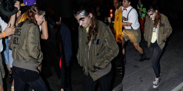 . 31.10.12 Robert et Kristen a une fête d'Halloween.
