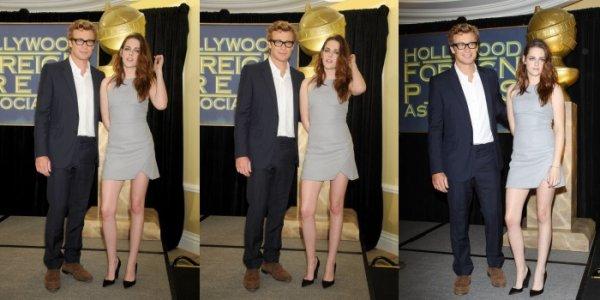 . 01.11.12  Kristen et Simon Baker à l'annonce du Lauréat Du Prix 'Cecil B DeMille' .