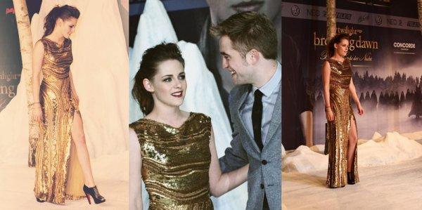 . 16.11.12 Encore et dérniére avant première cette fois à Berlin avec Rob Taylor et évidament Kristen .