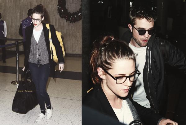 . 23.11.12 Sa fessait longtemps que Kristen et Rob n'était pas sortie mais la il on en profiter pour aller a New York .