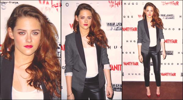 . 07.12.12 Kristen était au Screening et Q&A à Skywalker Ranch pour On The Road , toujours avec Garrett et Walter .