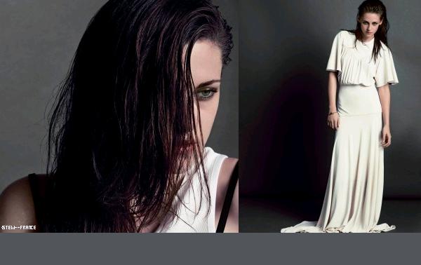 . Nouveau photoshoot de Kristen pour V Magazine Janvier 2013.