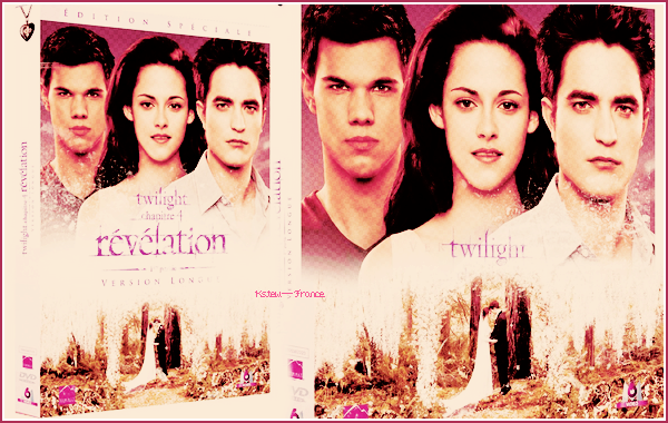 . Le DVD de Breaking Dawn Part 1 en version longue sortira le 8 Février en France + Gif