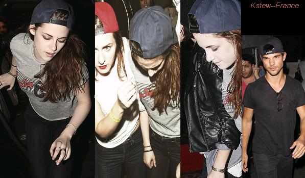 . 05.03.13 Kristen était encore au concert de Marcus Foster avecTaylor Lautner et ses amis.