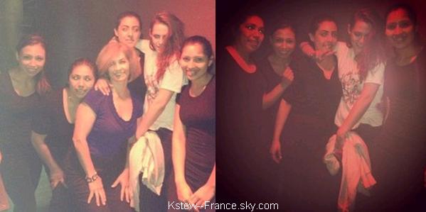 . 20.03.13 Une fan avec Kristen ET Rob à Los Feliz