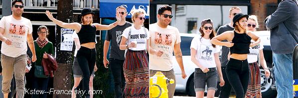 . 01.04.2013 Le couple Robsten était avec leurs amis à Los Feliz.