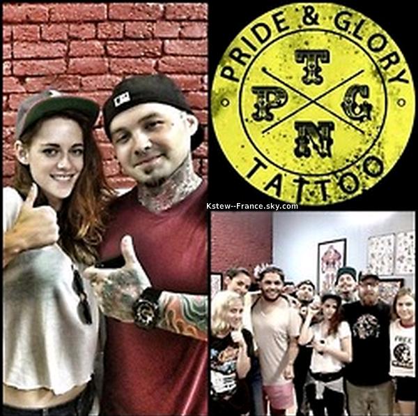 . 21.06.13  Kristen et ses amis ont été vue chez un tatoeur à Nashville