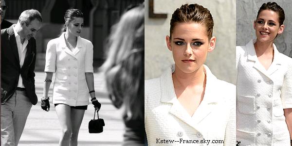 . 30.06.13 Kristen a été vus a l'aéroportt de Los Angeles.+.02.07.13 Kristen était au défilé de la haute couture Channel  à Paris .