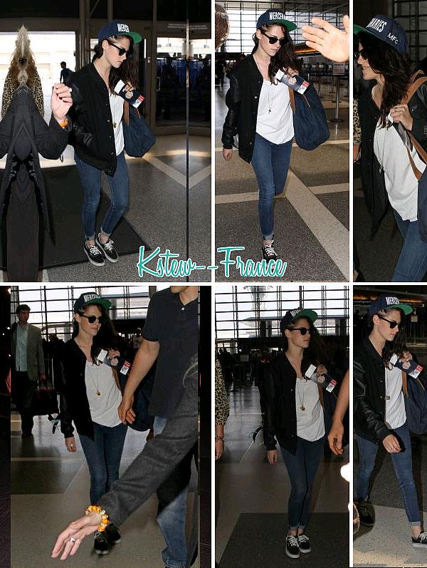 . 19.08.13 Kriten a l'aéroport de LAX.