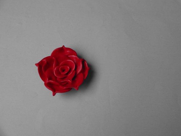 3ème objet : Une rose