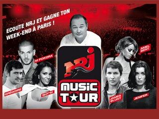 NRJ MUSIC TOUR DE PARIS  !Dès 21h. !