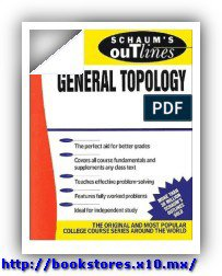 Schaum's General Topology -- 245