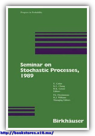 Seminar on Stochastic Processes, 1989 by Cinlar