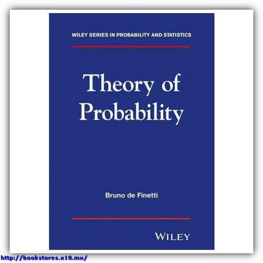 Theory of Probability, De Finetti
