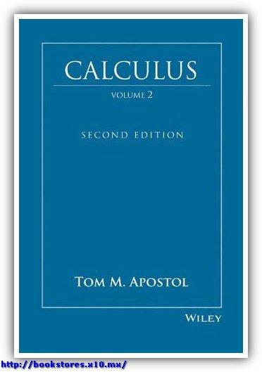 Tom M. Apostol Calculus, Vol. 2