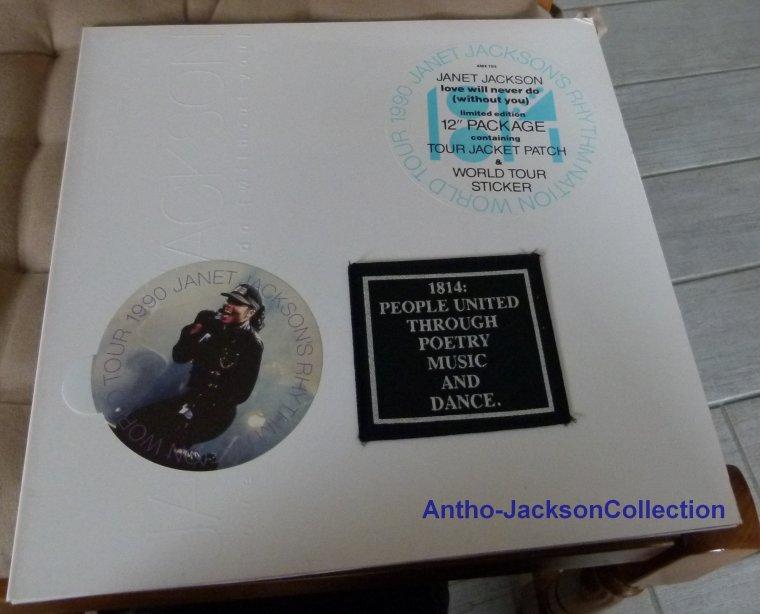 RHYTM NATION WORLD TOUR 1990 limited edition