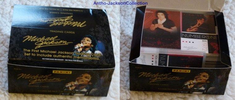 Vend la collection complètes Michael Jackson Panini 2011