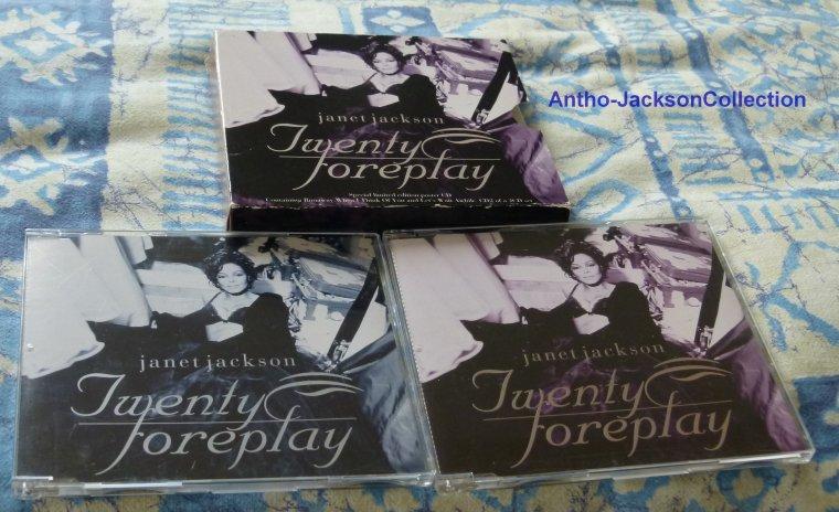 Coffret maxi-single très rare de Twenty foreplay