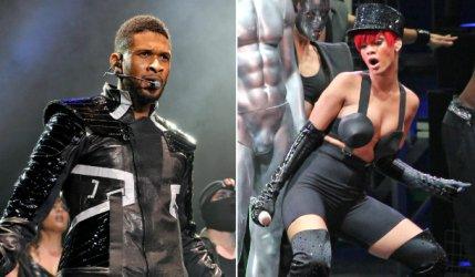 Usher fait les yeux doux à Rihanna