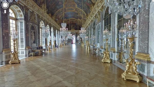 Galerie des Glaces, Château de Versailles (France)